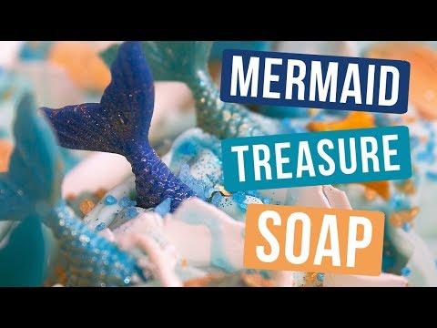 Mermaid Treasure Soap Royalty Soaps