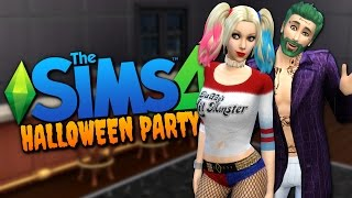 HALLOWEEN COSTUME PARTY - The Sims 4 Funny Highlights #89