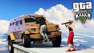 GTA V Online: RPG vs BLINDADOS - MITAMOS ft. ELIGIUM!!