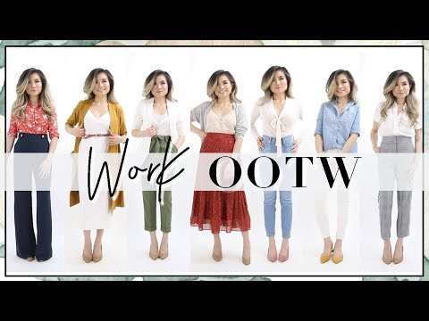 Spring Summer Work Outfits of the Week Fashion Lookbook Work Outfit Ideas OOTW Miss Louie