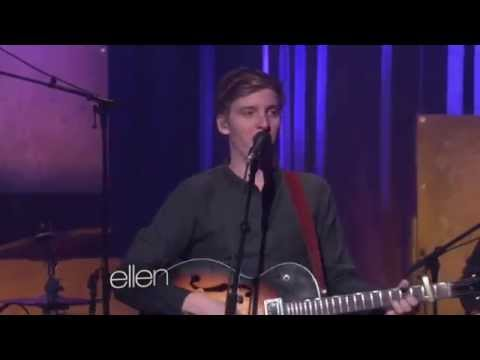 "George Ezra sings ""Budapest"" on Ellen - 2312015"