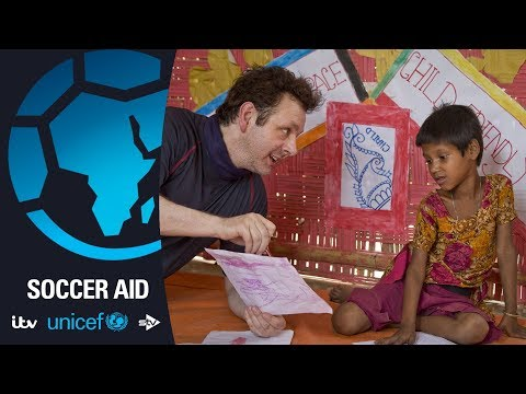 Xxx Mp4 Michael Sheen Visits The Rohingya In Bangladesh Soccer Aid For Unicef 3gp Sex