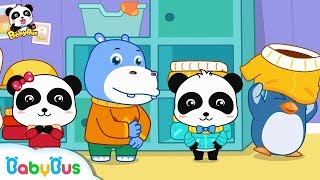 Baby Panda Wears Clothes on His Own | Kids Daily Routine | Kids Good Habits | BabyBus