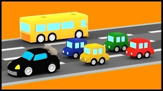 STOP THIEF! Car Chase - Cartoon Cars Videos for Kids. Cartoons for Children - Kids Car Cartoons!