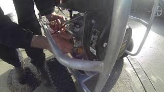 New 2015 Loncin Diesel 21 litre belt drive and hose reel