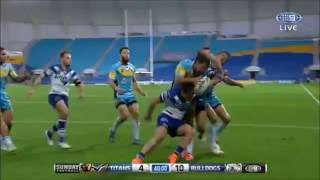 NRL : 40/20 from Aidan Sezer sets up a funny try