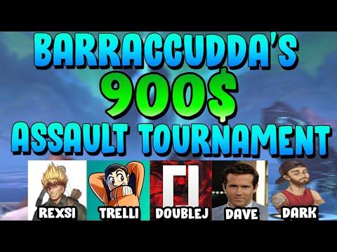 BaRRaCCuDDa s 900 Assault Tournament Full Tournament Gameplay SMITE Assault