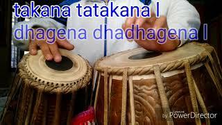 Tabla very fast keherwa taal & uthan