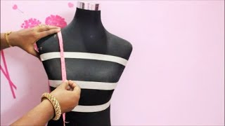 How to take body Measurements for Blouse-Tamil(DIY)) Part 1
