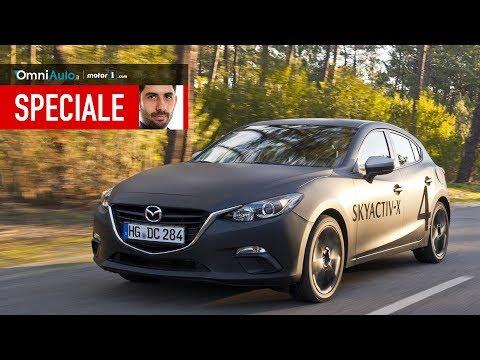 Mazda SkyActiv X come va un benzina che funziona come un diesel