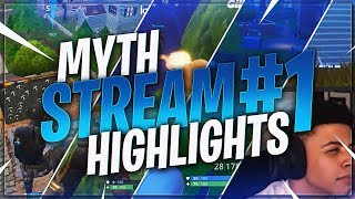 TSM Myth - STREAM HIGHLIGHTS #1 (Fortnite Battle Royale)