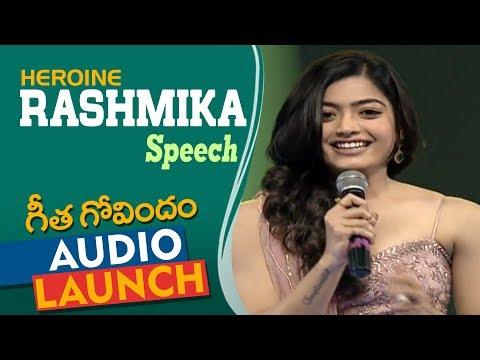 Xxx Mp4 Rashmika Mandanna Speech At Geetha Govindam Audio Launch Vijay Deverakonda Parasuram 3gp Sex