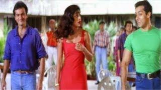 Salman Khan Saves Shilpa Shetty From Eve Teasing - Auzaar Movie Scenes