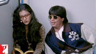 Raj & Simran - Train Scene | Shah Rukh Khan | Kajol