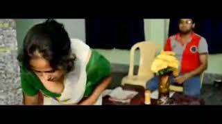 Mallu maid house owner cleavage hot