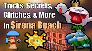 Tricks, Secrets, Glitches, & More in Sirena Beach in Super Mario Sunshine