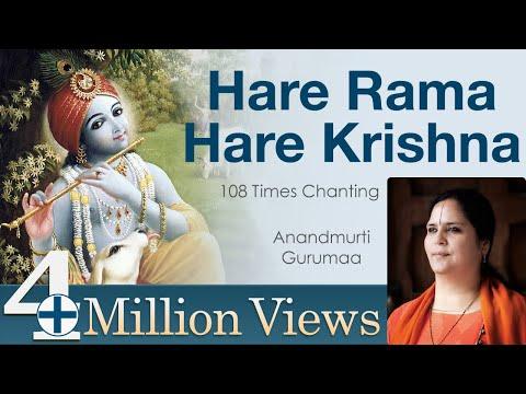 Hare Rama Hare Krishna  108 Times Chanting of Maha Mantra