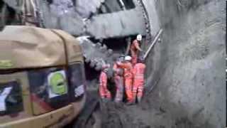 Crossrail Tunnelling Breakthrough: Elizabeth reaches Stepney Green