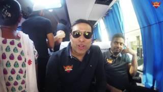 SRH arrives at Vizag