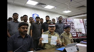 Five arrested for altering passports; 88 passports seized