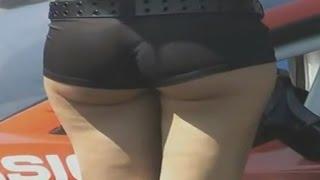 pantat Seksinya SPG dan Umbrella Girl yang Bikin mata melek
