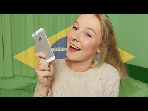 TRYING TO SPEAK BRAZILIAN PORTUGESE ♡