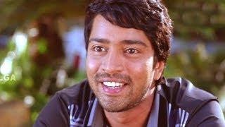 Kevvu Keka Comedy - Allari Naresh Explain His Love Story To Krishna Bhagavan