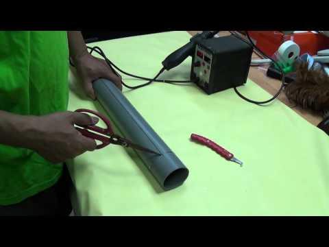 [綠色家園]魚菜共生 植生牆 集水槽的製作 Aquaponics  how to cut pvc pipe DIY Homemade