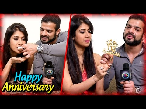 Xxx Mp4 Karan Patel And Ankita Bhargava Anniversary SPECIAL Exclusive Interview TellyMasala 3gp Sex
