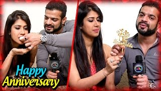 Karan Patel And Ankita Bhargava Anniversary SPECIAL | Exclusive Interview  | TellyMasala