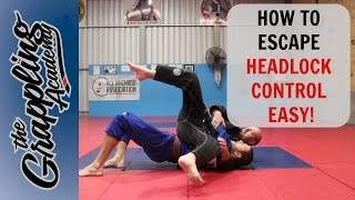 HOW To Escape HEADLOCK Control - EASY!