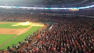 Astros vs Dodgers Final out World Series game 7 at Minute Maid watch Party
