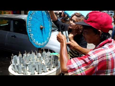 Xxx Mp4 Ice Cream Seller With Tombola Wheel Myanmar Former Burma Happy Customer 3gp Sex