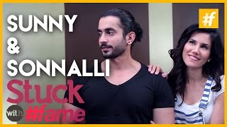 Sonnalli Seygall And Sunny Singh | Stuck With #fame