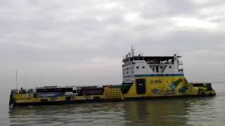 Ro-Ro Ferry in Padma River