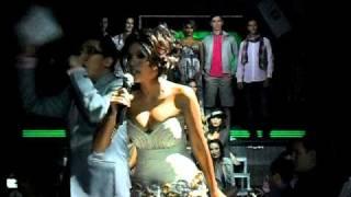 Olive Lee & Joy Tan, MC for X2 4th Anniversary at Equinox 2011