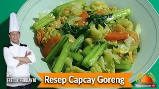 Resep Capcay Goreng