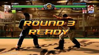 XBOX360 バーチャファイター5 Live Arena VF5LA TemakiZushi (Lau) vs The Black White (Wolf)