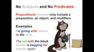 Prepositional Phrases   Parts of Speech App