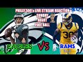 Download Video Download SUNDAY NIGHT FOOTBALL: Eagles vs Rams Live Reaction 3GP MP4 FLV