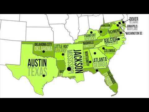 watch Southern Capitals & States