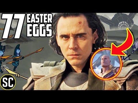 LOKI 1x01 Every Easter Egg Secret Thanos Origin Revealed Marvel References & Episode BREAKDOWN