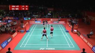 Ko Sung H/ Lee Yong Dae (SOUTH KOREA) VS Hirokatsu H/ Noriyasu H. (JAPAN) Djarum Indonesia Open 2013