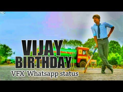 Vijay Birthday | VFX Whatsapp status | june 22 | AVM CREATIONS-hdvid.in