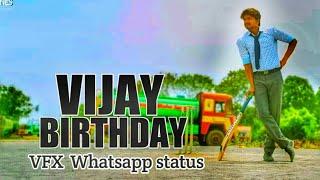 Vijay Birthday | VFX Whatsapp status | june 22 | AVM CREATIONS