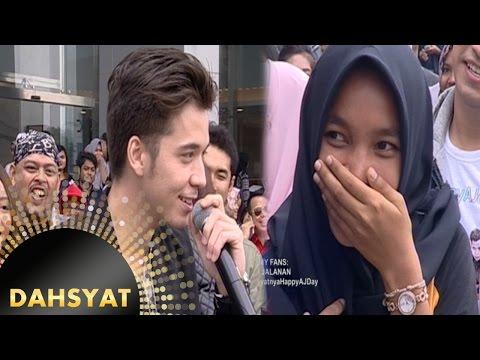 Histerisnya Gadis Malang Bertemu Boy Anak Jalanan [DahSyat] [12 Oktober 2016]