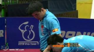 Pro Tour Austria Open. FINAL:  MA Lin + ZHANG Jike vs Ma Long + Van Hao