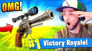 The SNIPER PISTOL in Fortnite: Battle Royale!