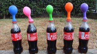 Learn Colors with Coca Cola Finger Family Song with science experiment For Children Toddlers Babies