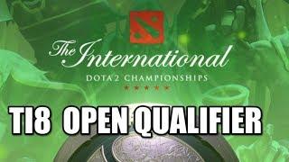 The International 2018 Open Qualifier #1 with EGM, Gorgc, Garter and Lizzard
